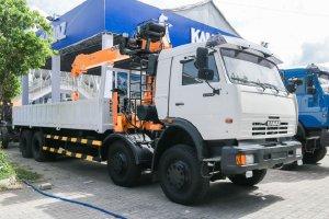 KAMAZ 6540 GẮN CẨU DINEX 8 TẤN (8X4)