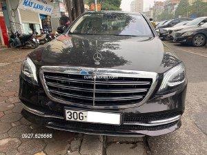 Chính chủ gửi bán xe Mercedes S450L 2019 Đen Ruby nt Kem chạy siêu lướt 1542 km / 3 tỷ 999 triệu