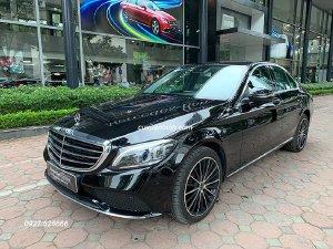 Xe Mercedes C200 Exclusive 2019 cũ màu Đen chạy lướt 2648 km mới 99% / 1 tỷ 659 triệu
