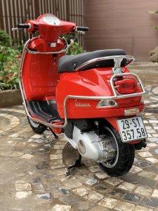 Cần bán Vespa LX 2014 màu đỏ quá đẹp, cực chât