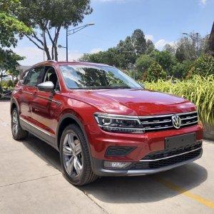 🔥🚘🔥 Cần bán xe Volkswagen Tiguan Allspace, màu Đỏ,xe Đức nhập khẩu chính hãng 🔥🚘🔥 Đang Tặng Trước Bạ 173tr 🎁🎁