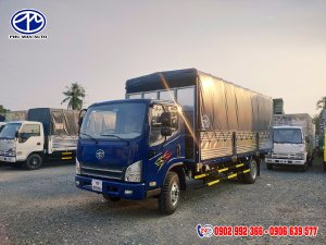 Bán xe tải faw 7 tấn ga cơ máy hyundai giá rẻ - Xe tải 7 tấn 3/ xe tải 7.3 tấn trả góp
