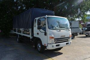 Xe tải jac N650 6.5 tấn thùng bạt 6m2 động cơ cummin đời 2020 | Hỗ trợ trả góp