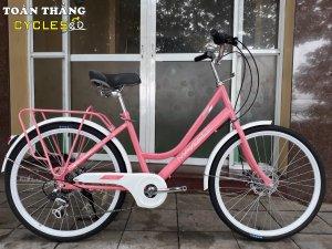 Xe đạp thời trang Makefee Butterfly 24