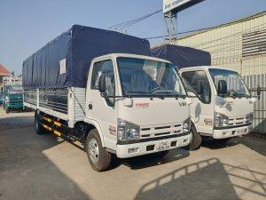 Xe tải isuzu 1.9 tấn thùng dài 6m2 chở hàng nhẹ vào thành phố | Hỗ trợ trả góp