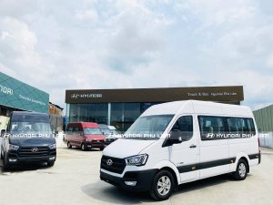 Hyundai Solati 16 chổ xe mới 100%. Hổ trợ trả góp lãi suất thấp