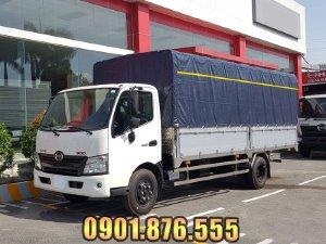 Hino XZU720L thùng dài 5m2 hỗ trợ vay cao toàn quốc
