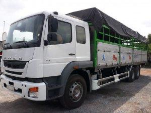 cần bán xe tải 3 chân fuso Fj đời 2016 tải 15 tấn thùng 9m1 hỗ trọ trả góp
