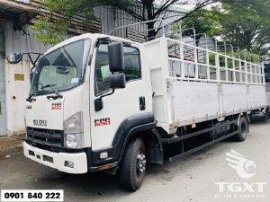 Xe tải Isuzu FRR650 thùng bạt bửng nhôm, đời 2020
