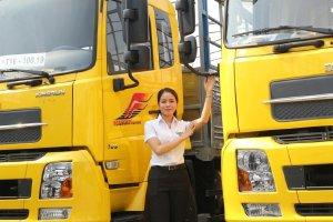 Xe tải 9 tấn Dongfeng thùng 7.5M Giá xe DF Hoàng Huy 2020