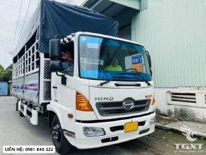Hino FC9JNTC thùng 7m2, tải 6T, trả trước 20% nhận xe