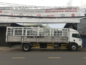Giá bán xe tải faw 8 tấn thùng dài 8m | bán xe tải 8 tấn ở Bình Dương.