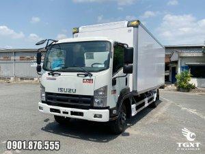 Xe tải Isuzu FRR90NE4 thùng bảo ôn trả trước 10-20% giao xe ngay