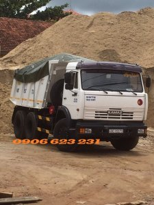 Xe ben Kamaz 15 tấn   Kamaz  65115 (6x4) thùng vát 10m3