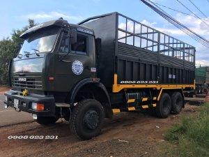 Xe tải thùng Kamaz 3 cầu chuyên dụng | giá bán Kamaz 53228 (6x6) 3 cầu chuyên dụng
