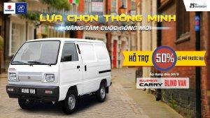 Suzuki Blind Van. Thích hợp với khách hàng kinh doanh