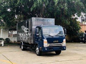 Xe tải Jac N350 Plus thùng dài 5.25m hỗ trợ ngân hàng vay cao