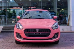 Giá xe Suzuki Swift màu hồng cá tính T11/2020
