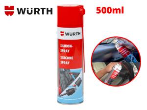 Dung Dịch silicone bôi trơn phục hồi nhựa cao su bảo vệ mạch điện Wurth Silicone 0893221 500ml