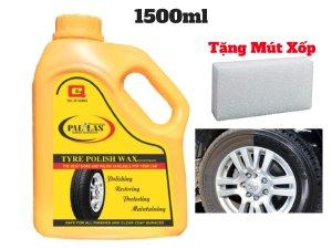 Dung Dịch Đánh Bóng Vỏ Xe ,Đánh Bóng Lốp Xe Polish Wax Pallas 1.5 Lít Tặng Mút-PWP15