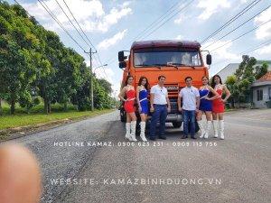 Bán xe xăng dầu Kamaz 18m3   Bán xe bồn 3 giò Kamaz 53229 (6x4) loại 18m3