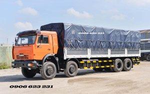 Tải thùng Kamaz 6540 (8x4) thùng 9 | Bán xe tải Kamaz 4 giò nhập khẩu [ Trả góp]