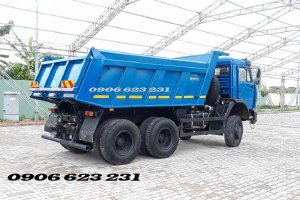 Bán xe ben 3 giò Kamaz 15 tấn tại Daknong   Kamaz 65115 (6x4) GA CƠ nhập khẩu [chuyên khai thác mỏ, san lấp...]