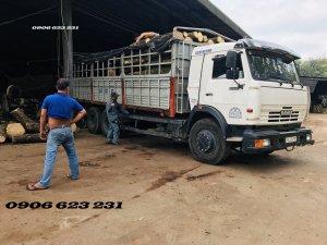 Bán xe tải thùng Kamaz 3 chân 15 tấn thùng 6m3 | Bán xe tải Kamaz 15 tấn tại Bình Phước