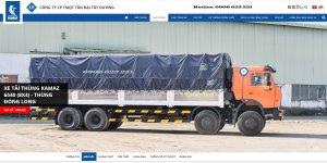 Tải thùng 4 giò Kamaz, Kamaz thùng 30 tấn, Bán xe tải thùng kamaz 4 chân dài 9m