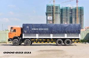 Bán Kamaz thùng 4 giò nhập khẩu thùng 9m   Bán xe tải thùng Kamaz 18 tấn Nhập khẩu [ trả góp] thùng 9m