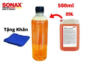 Nước Rửa Xe Sonax Sonax 500ml Chiết Từ Bình 25l Tặng Khăn
