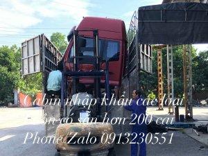 Cabin xe tải  kho ca bin hyundai howo dongfeng