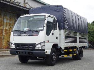 Xe tải Isuzu 1T9 QKR270 giá rẻ, xe tải Isuzu thùng bạt 4m3 1.9 tấn