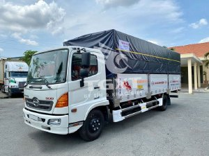 Xe tải Hino FC mui bạt có sẳn - Hino FC 6T5 6.5 tấn thùng 6m7