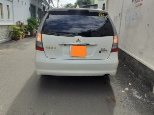Gia đình cần bán Mitsubishi Grandis 2012 limited, số tự động Full, màu trắng