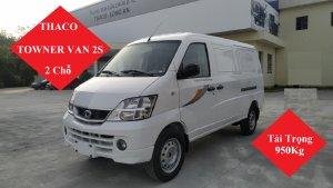 Giá xe tải Van 945kg 2 chỗ Towner Van 2S Đời 2021