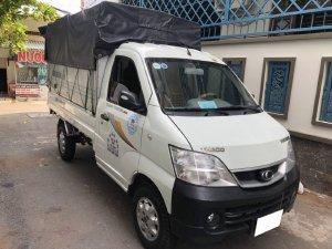 Gia đình cần bán xe Tải Thaco Towner 2017,  số sàn, máy xăng, màu trắng còn mới tinh