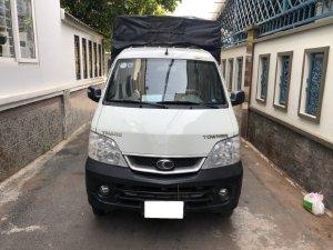 Gia đình cần bán xe Tải Thaco towner 2017,  số sàn, máy xăng, màu trắng
