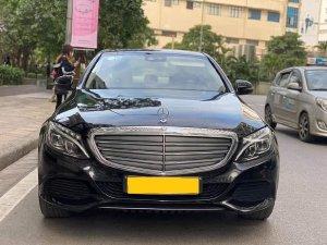 Nhà mình cần bán Mercedes C250 Exclusive 2016 số tự động, màu đen