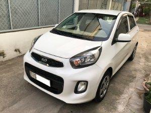 Gia đình cần bán xe Kia Moring 2018, động cơ 1.2L, số sàn, màu trắng