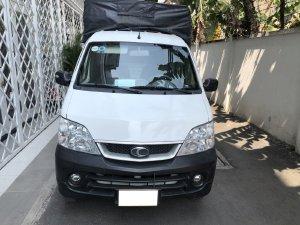 xe Tải Thaco Towner 2017,  số sàn, máy xăng, màu trắng còn mới tinh