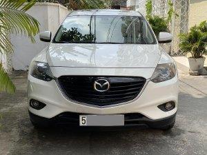Mazda CX9  tự động 2014 màu trắng bản full rất mới