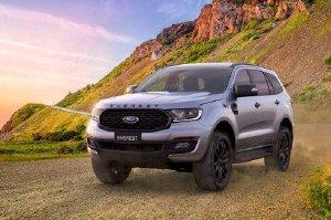 Ford Everest Sport 2021 - SUV 7 chỗ thể thao mạnh mẽ, có giá 1,112 tỷ