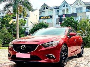 Mazda 6 đời 2017, bản full 2.5, số tự động, màu đỏ tươi