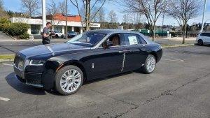 Bán Rolls Royce Ghost Series ll, sản xuấ 2021, mới 100%, xe có sẵn, giá tốt.