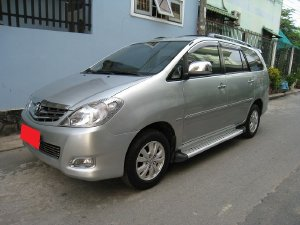 Bán Toyota Innova 2009, số tự động, bản V, màu bạc