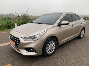 Hyundai Accent 2019, số sàn, bản Full, màu vàng cát