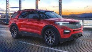 Ford Explorer 2022 có thêm bản hiệu suất cao giá rẻ