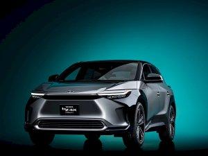 Cận cảnh xe điện Toyota bZ4X Concept vừa xuất hiện tại Triển lãm ô tô Thượng Hải 2021