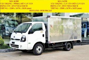 Xe Tải Kia K250 Đông cơ Hyundai Tải Trọng 2.4 tấn